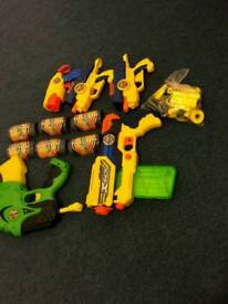 X-Shot Blasters with refill darts