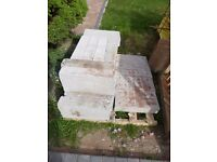 FREE FOR COLLECTION - BREEZE BLOCKS