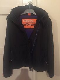 Superdry windcheater coat size small £25 ono