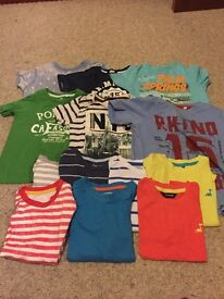 Selection of boys clothes: age 18-24 months