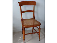Attractive light wood chair