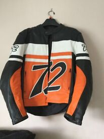 Mens motorbike jacket. Small