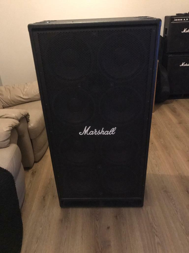 Marshall 8x10 bass cab | in Thetford, Norfolk | Gumtree