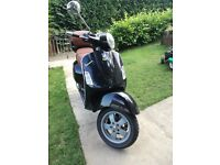 piaggio vespa GT 125cc fast and quality bike
