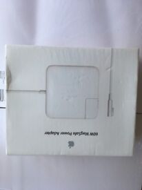 Apple 60W MagSafe Power Adapter (brand new in original and sealed packaging)