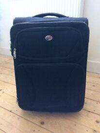 Hand luggage size suitcase