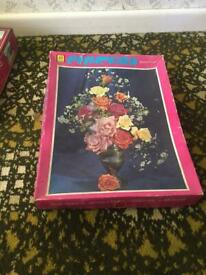 KG Games Flowers 800 piece jigsaw puzzle