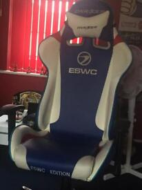 Dxr racer gaming chair (ESWC EDITION)