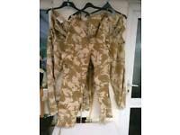 British Military trousers combat tropical desert dpm