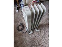 Oil filled heater (used)
