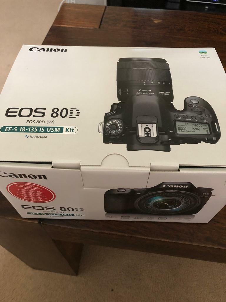 Canon 80D + EF-S 18-135mm IS USM Kit lens | in Poole, Dorset | Gumtree