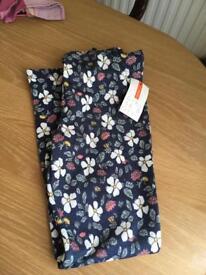Girls John Lewis leggings/ trousers