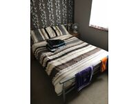 Double bed excellent condition mattress included if you want it mattress is in good condition aswell