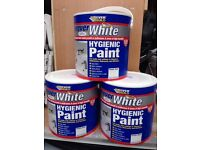 Ever build forever White satin paint