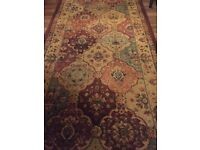 Runner Rug, Multi-Coloured, Traditional Style, 80cm x 300cm, Good As New