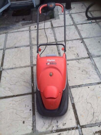 flymo turbo compact 330 electric hover mower
