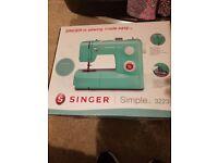 BNIB Unopen Singer Bluebird Electric Sewing Machine Model 3223 Simple Automatic Reverse