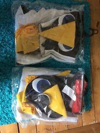 Two penguin suits