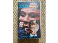 Doctor Who Spearhead From Space VHS