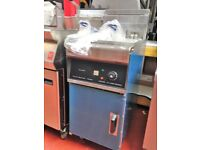 Free Standing Electric Fryer Single Tank 3 Phase Take Away / Restaurant