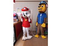 ## FOR HIRE CHASE & MARSHALL MASCOTS COSTUMES ##