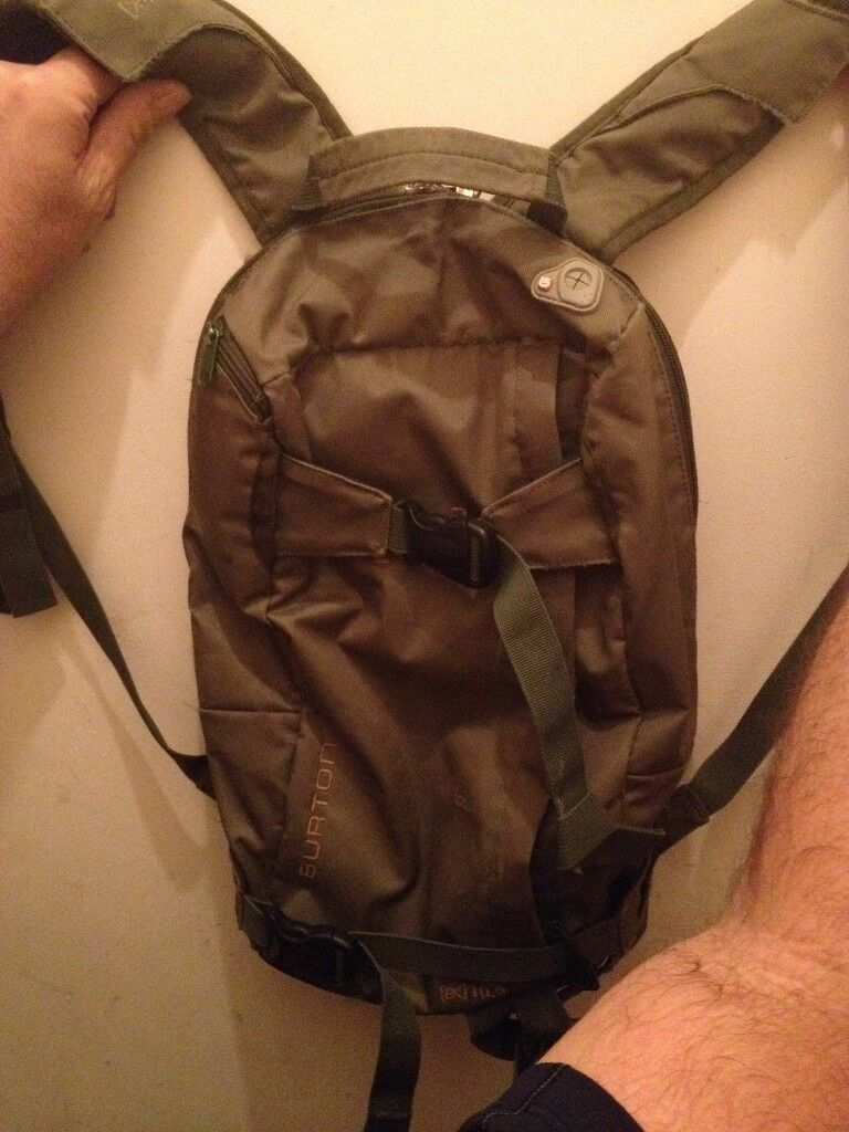 Burton AK backpack 10.5 litre lift friendly pack and 25ltr