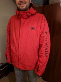 Men's Helly Hansen ski jacket medium/large red