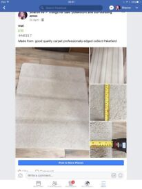 Mat made from quality carpet