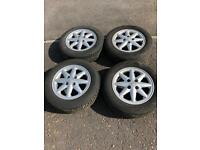 Renault Clio Sport alloy wheels with good tyres