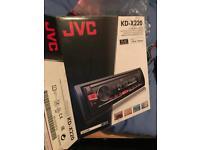 JVC car stereo. Aux/Bluetooth/mp3
