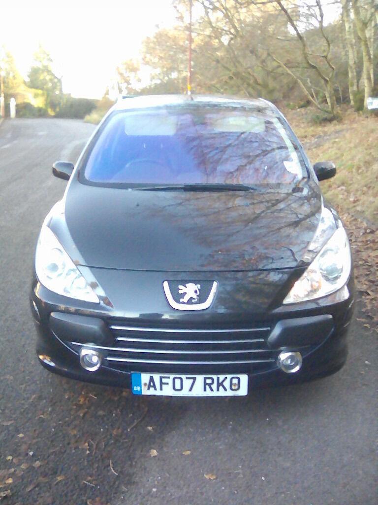 07 reg Peugeot 307 sport 1.6 5 door 6 Months MOT