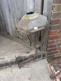 Victorian Brass Street Light