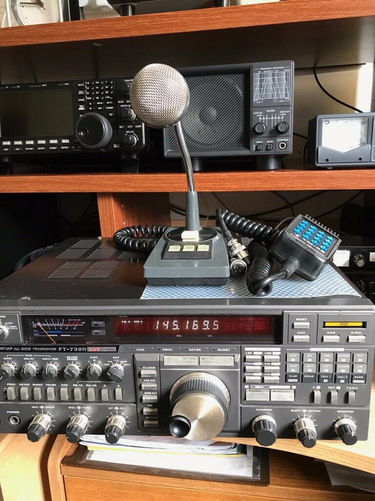 YAESU FT736R VHF/UHF TRANSCEIVER  2m/6m/70cm  | in Castleford, West  Yorkshire | Gumtree