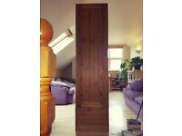 Wooden Wardrobe/Cabinet Handmade Solid Pine Door With Vintage Style Handle