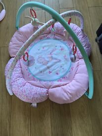 Pink Mothercare play mat
