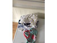 Babygros jogging sets vests etc