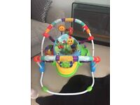 Baby Einstein jumperoo used good condition smoke and pet free home