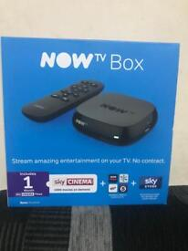 Now Tv Smart Box with 1 Month Sky Pass, Brand New & Sealed