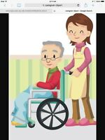 Looking for a caregiver...1 to 2 days a week