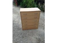 Drawers with small marks