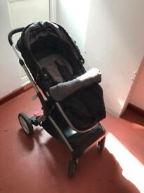 Mothercare brand pushchair for sale with car seat