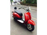 2009 TAMORETTI RETRO 125cc LOW MILEAGE/ GOOD WORKING ONLY FOR £750