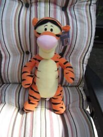 Fisher Price disney tigger appox 43 cms tall label still attached very good condition ideal present