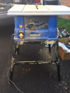 Master craft table saw!!!