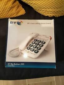 BT BIG BUTTON 200 HOUSE PHONE