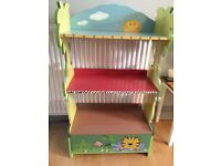 Childs Jungle Themed Bookcase