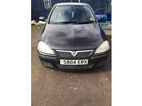 Here I have Corsa 1.2 petrol me like swap or for sale