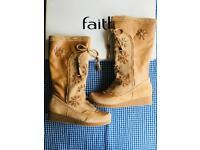 Faith brand new women's knee high boots