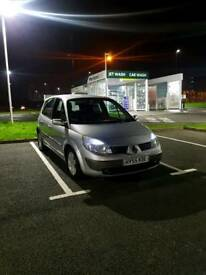 Good condition renault scenic 55reg low milage start and drive price 495 o.n.9