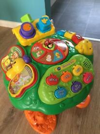 VTech Discovery Tree Activity Table